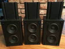 M&K (Miller & Kreisel) SX-4 Speakers (triple pack!)