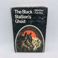 THE BLACK STALLION'S GHOST by Walter Farley 1969 1st Edition Hardcover Book