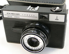 Virtually NEW! Smena Symbol Russian LOMOGRAPHY LOMO Compact 35mm Camera Smena-8m