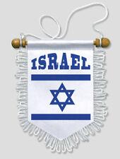 FANION VOITURE ISRAEL - 13 X 15 CM - BLASON ECUSSON FOOTBALL
