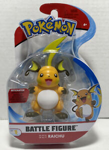 """Jazwares Wicked Cool Toys Pokemon Battle Figure Raichu 3.75"""" Articulated New"""