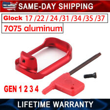 Red Aluminum Flared Magwell Glock 17/22/24/31/34/35/37 ( GEN1 2 3 4)