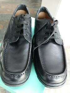 Mens Clarks shoes size 10 extra wide BNIB black
