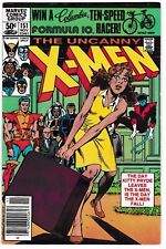 X-MEN #151 (NM-) Kitty Pride Leaves the Team! 1981 White Queen! Newsstand Ed.