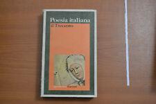 Poesia italiana Il trecento GARZANTI PRIMA EDIZIONE