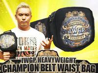 IWGP Heavyweight Champion Belt Waist Bag New Japan Pro Wrestling NJPW  2019 RARE