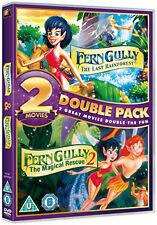 FERNGULLY / FERNGULLY 2 - DVD - REGION 2 UK