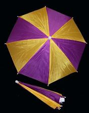 MARDI GRA UMBRELLA HAT novelty hats headwear golf fishing crazy rain gear PARTY
