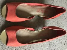 Next ladies kitten heel shoes size 8