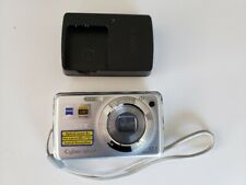 Sony Cyber-shot DSC-W230 12.1MP Digital Camera - Silver With Charger - untested