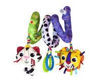 Lamaze Baby Activity Spiral Crib Pushchair Stroller Car Seat Activity Toy