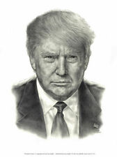 """From Infowars Pres. Trump lithograph.  16"""" x  20"""""""