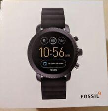Fossil - Q Explorist Gen 3 Smartwatch 46mm Stainless Steel - Black FTW4005