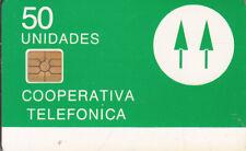 ARGENTINA Cooperativa Telefonica Telkor trial card 500ex mint
