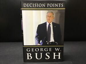 SIGNED Decision Points - George W. Bush [Crown 2010] President Political Memoir