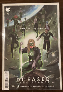 DCeased: Dead Planet #4 NM 9.4 INHYUK LEE AQUAMAN HOMAGE COVER DC COMICS