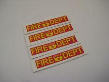 Corgi Juniors No 56 Ford Capri Fire Chief Car Stickers - B2G1F