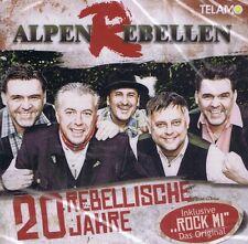 MUSIK-CD NEU/OVP - AlpenRebellen - 20 Rebellische Jahre