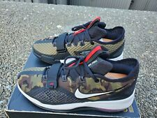 Nike Air Force Max Low Green Camo - Black/White/University Red-Camo - Size 11.5