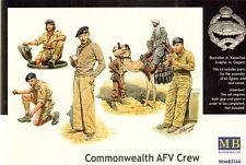 Master Box 1/35 Commonwealth AFV Crew # 3564