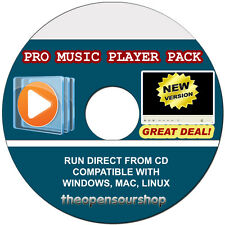 Pro Media Player Collection Video Converter and Flash Player CD - Convert Audio