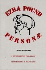 EZRA POUND: PERSONAE, The Shorter Poems  1990 Paperback