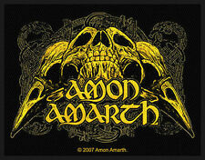 AMON AMARTH - Aufnäher Patch - Ravenskull