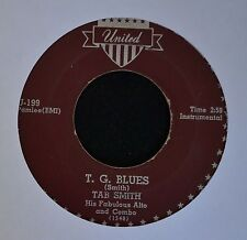 Tab Smith United 199 T.G. Blues and Hurricane T