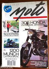 LA VIE DE LA MOTO N° 1 Hors Série; Dossier Scooters/ 1200 Munch/ 305 Honda