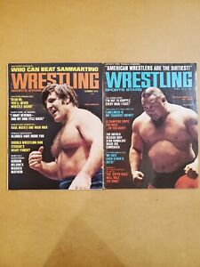 Wrestling Sports Stars  Magazine Lot  - Sammartino  - Tanaka