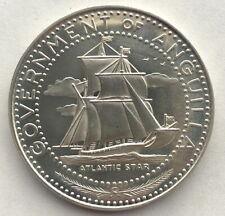 Anguilla 1970 Atlantic Star 4 Dollars Silver Coin,Proof