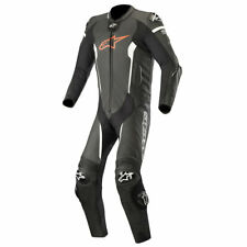 SALE | Alpinestars Missile Leather Suit 1 Piece Tech Air Black Fluo Red White 54