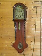 1850 orig. 100cm Biedermeier HALBKASTENUHR WANDUHR PENDELUHR FRIESENUHR 5 Säulen