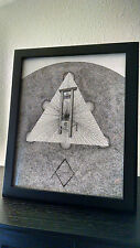 Golden Dawn Guillotine Unicursal Hexagram Aleister Crowley Occult OTO Drawing