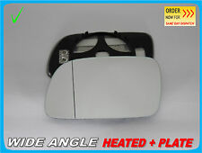 PEUGEOT 307 2001-2008 Wing Mirror Glass Aspheric HEATED Left Side #G011