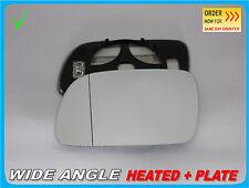 Para Peugeot 307 2001-2008 Ala Espejo De Cristal Asférica Calentada Izquierda #G013