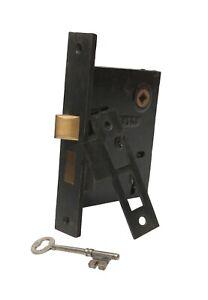 Clinton Bronze & Cast Iron Passage Door Lock