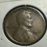1911-D  LINCOLN  PENNY HIGH GRADE SCARCE COIN