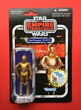 Star Wars Vintage Collection Vc06 C-3PO... Punched. Mint Condition. Very Rare