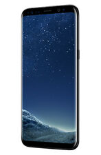 Samsung Galaxy S8 G950F 64GB Unlocked GSM Phone w/ 12MP Camera - Midnight Black