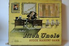 "VINTAGE PARKER BROTHERS 1959 ""RICH UNCLE"" STOCK MARKET GAME"
