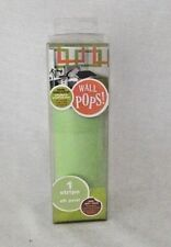 "Wall Pops Wall Stripe Decor Art Oh Pear Lime Green Peel Stick 6.5"" x 16"" Decal"
