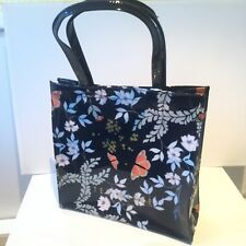 Ted Baker PVC Kyoto Gardens Butterfly's Floral Large Print SHOPPER Icon Bag