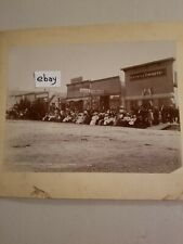 New listing 1896 Kalispell Montana Bike Race Photo Vintage antique old Parade Mt town July 4