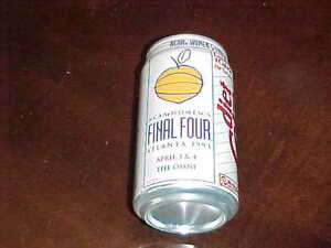 1993 NCAA Women's Final Four Basketball Diet Coke Can