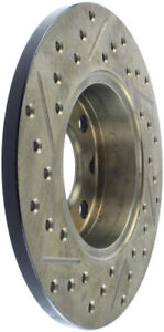 StopTech Slotted & Drilled Sport Brake Rotor - st127.04000L