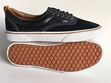 VANS ERA MTE BLACK LEATHER TRAINERS NEW