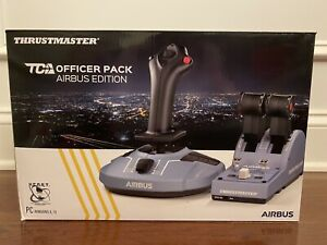 Thrustmaster TCA Officer Pack Airbus Edition Windows Joystick Quadrant New