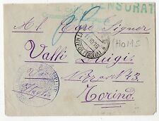 1916 LIBIA LETTERA DA HOMS 11/10 C/3640