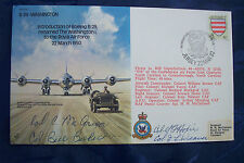 FIRST DAY COVER MULTI SIGNED VETS Confederate Air Force Superfortress 44-62070